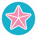 beach, nature, ocean, sea, star, starfish, summer icon