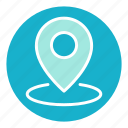 direction, location, map pin, navigation, place, travel, vacation icon
