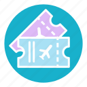 air, aircraft, control, event, ticket, tickets, travel icon