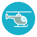 air, aircraft, fly, helicopter, sky, transport, transportation icon