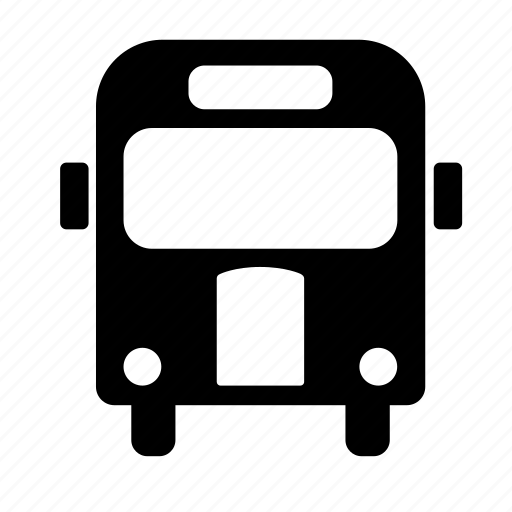 bus, school, transport, travel icon