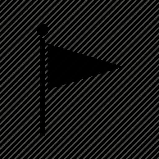flag, location, map, marker, navigate, navigation, pin icon