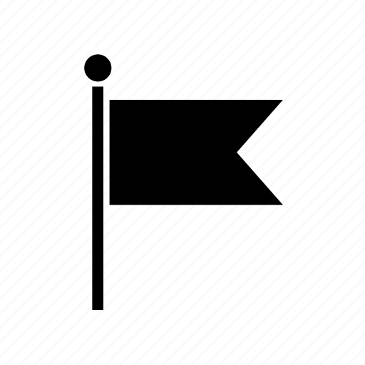 flag, gps, map, marker, navigate, navigation, pin icon