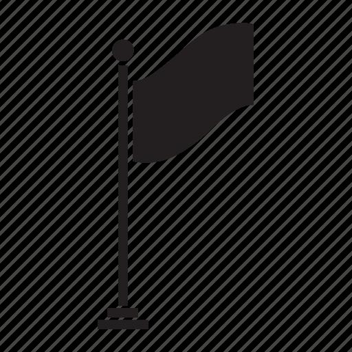 banner, ensign, flag, location, map, marker, navigation icon