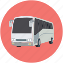bus, coach, travel, vehicle icon