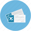 air tickets, airplane tickets, flight tickets, plane tickets icon