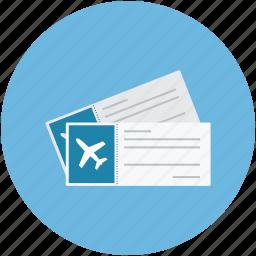 air tickets, airplane tickets, flight tickets, plane tickets icon