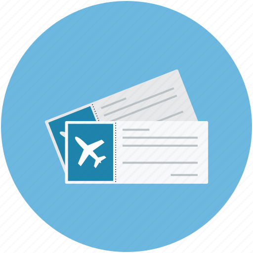 Air Tickets Airplane Flight Plane Icon