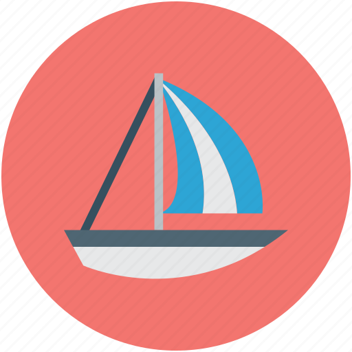 boat, sailboat, travel, yacht icon