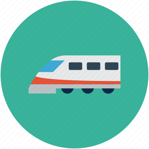 bullet train, high speed train, train, travel icon