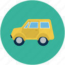 jeep, transport, van, vehicle icon