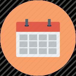 blank calendar, calendar, event, schedule icon