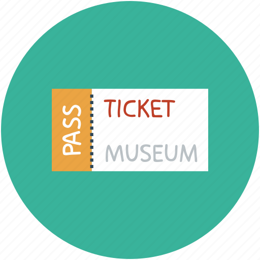 id, museum ticket, pass, ticket icon