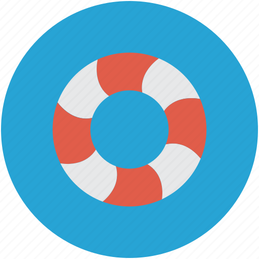 Lifebelt, lifesaver, lifebuoy, support icon - Download on Iconfinder