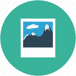 landscape, photo, pic, picture icon