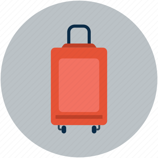 luggage, suitcase, travel bag, traveling bag icon