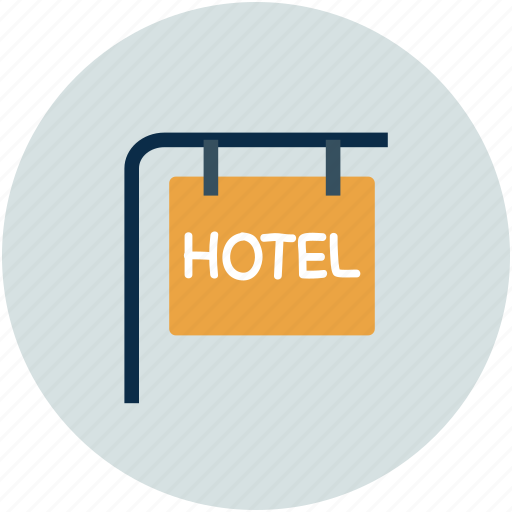 Hotel, hotel information, info, signboard icon - Download on Iconfinder