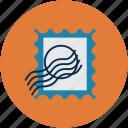 postage, postage stamp, postmark, stamp icon
