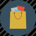 bag, shopper, shopping, shopping bag icon
