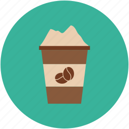 coffee, coffee cup, disposable cup, paper cup icon