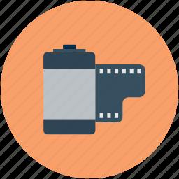 camera film, color film, film, film cartridge icon