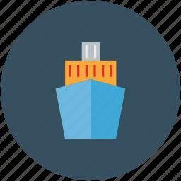 cruise, luxury cruise, ship, travel icon