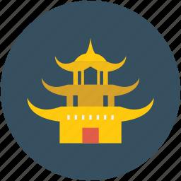 building, estate, temple, tibet icon