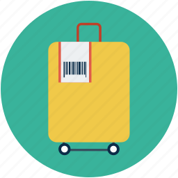 luggage, suitcase, travel, traveling bag icon