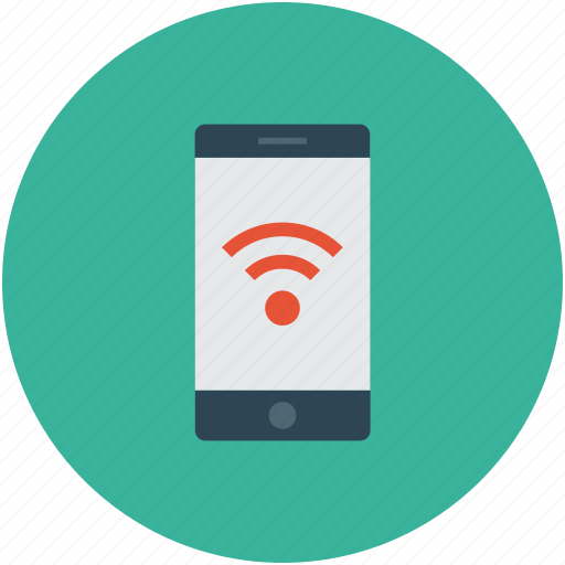 tablet, wifi sign, wifi signals, wireless internet icon
