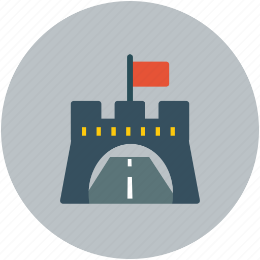 highway, road, track, underpass icon