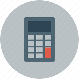 calc, calculate, calculator, finance icon
