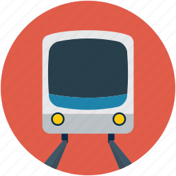 subway, train, transport, travel icon