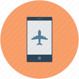 communication, flight information, flight inquiry, mobile icon