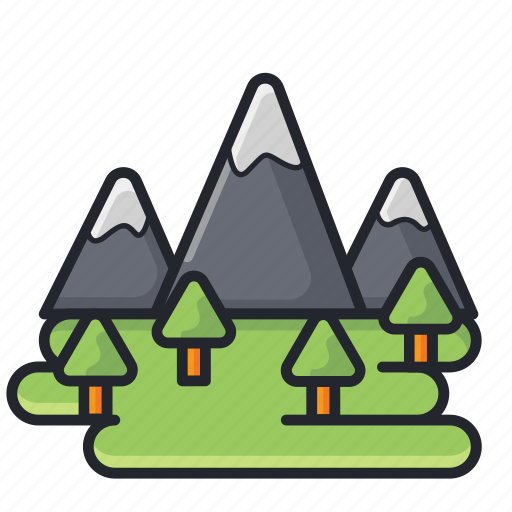 Landscape, mountain, nature, outdoor icon - Download on Iconfinder