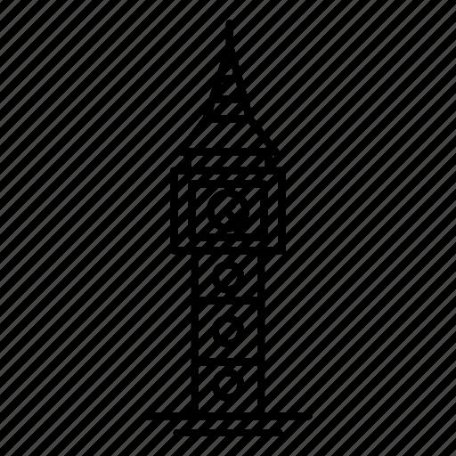 Architecture, ben, big, landmark, monument icon - Download on Iconfinder