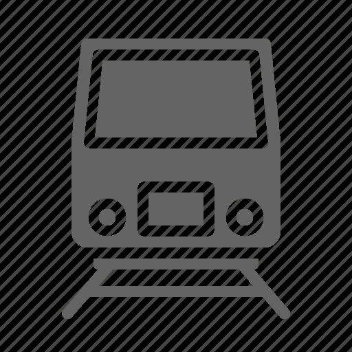 public, rail, train, tram, transport, trasnportation, travel icon
