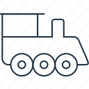 cargo, delivery, locomotive, rail, railway, train, transport, transportation, travel, vehicle icon