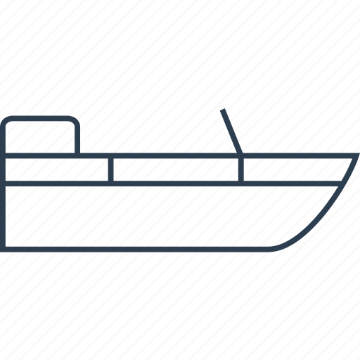 boat, fishing, marine, ocean, sea, ship, shipping, transport, transportation, travel, water icon