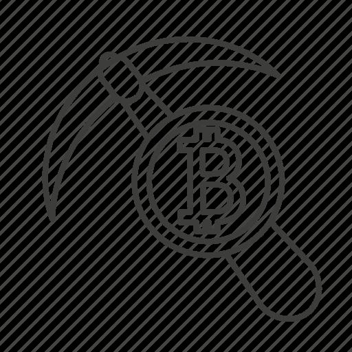 accounting, axe, bank, bitcoin, money, payment, saving icon