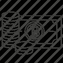 saving, bitcoin, up, add, accounting, grow, bank