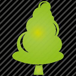 green, leaf, plant, tree icon