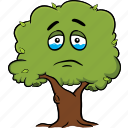 emoticon, smiley, tree, face, cartoon, emoji