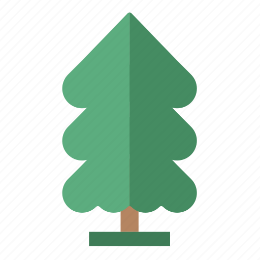 Svg Nature Perennial Pine Tree Icon Download On Iconfinder