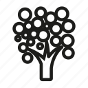 tree, trees icon