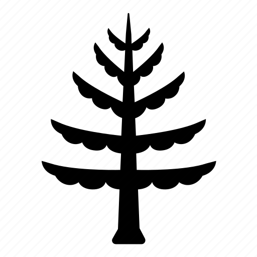 aspen, beach, coastal, evergreen, pine, tree icon