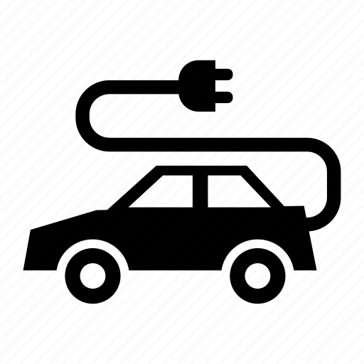 car, electric, electriccar, hybrid, plug, plugin icon