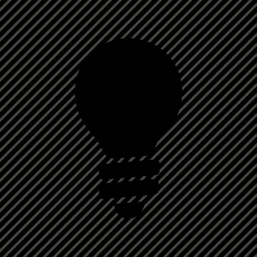 bulb, domotica, idea, lamp, led, light icon