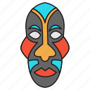 face mask, cultural mask, festive mask, african culture, dan, tribal mask, dan of liberia icon