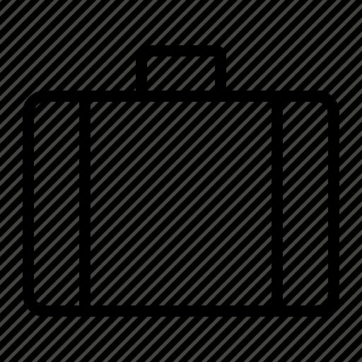 attaché, briefcase, portfolio, suitcase icon