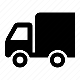 car, delivery, shipping, truck, van icon